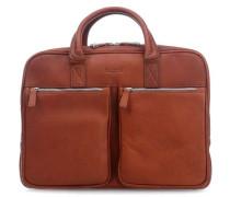 Sartoria L 14'' Aktentasche mit Laptopfach cognac