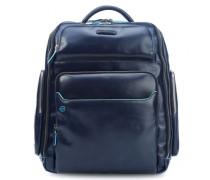 Blue Square 15'' Laptop-Rucksack blau