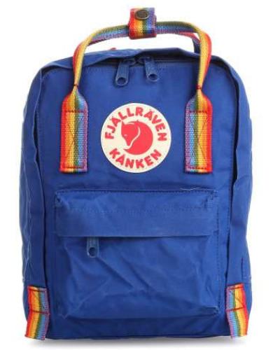 Kånken Rainbow Mini Rucksack blau