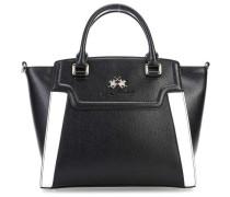 Portena Handtasche schwarz weiß