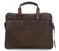 Hudson 14'' Aktentasche mit Laptopfach braun