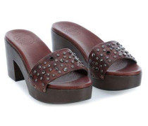 Clog 40 Schuhe dunkelbraun