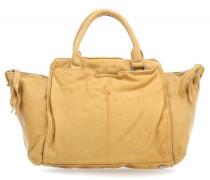 Vintage Fuji Handtasche gelb