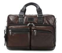 Bravo Leather 14'' Aktentasche mit Laptopfach