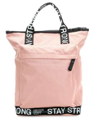 Roots Strong The Monokissed Rucksack 13″ rosa