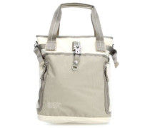 Qukoo Nylon Fire Frei Shopper beige