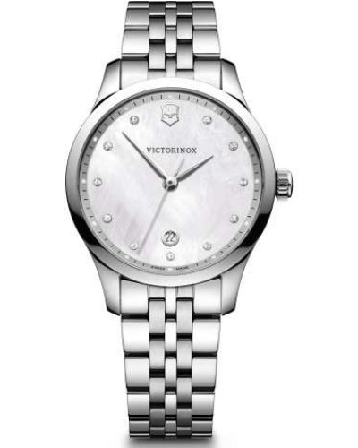 Alliance Small Schweizer Uhr silber