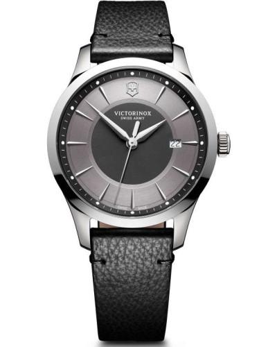 Alliance Schweizer Uhr silber/grau