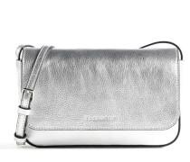 Mini Bag Umhängetasche silber