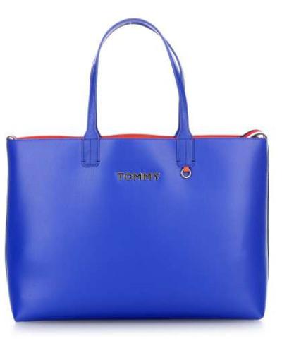 Iconic Tommy Shopper blau