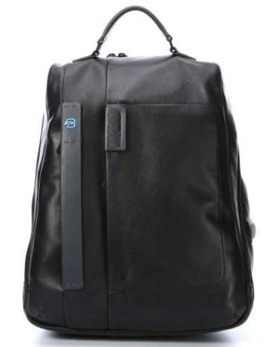 Piquadro Damen Pulse Laptop-Rucksack 14�?schwarz