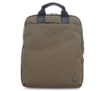 Brompton James 15'' Laptop-Rucksack khaki
