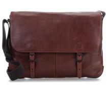 Buckner 15'' Laptop Messenger cognac
