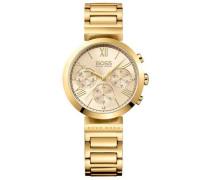 Classic Women Sport Chronograph gold