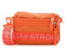 Roots Strong Yma Schultertasche orange