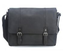 Hudson L 14'' Laptop Messenger schwarz
