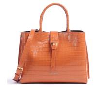 Alba Croco Shiny Soft Handtasche