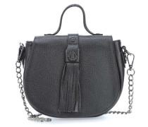 Leather Nown Hippiho Henkeltasche schwarz