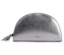Half Moon Place Clutch silber