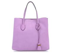 Celene Suede Shopper violett