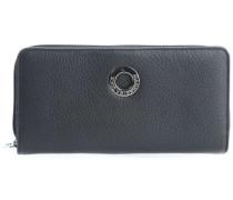 Mellow Leather Geldbörse Damen schwarz
