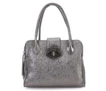 Laminato Handtasche silber metallic