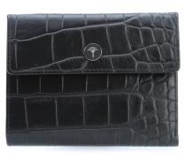 Croco Soft Cosma Geldbörse Damen schwarz
