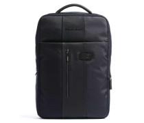 Brief Laptop-Rucksack 15″ dunkelblau