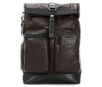 Bravo Leather 16'' Laptop-Rucksack