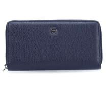 Basics Geldbörse Damen blau