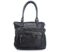 S.C. Megapixel Handtasche schwarz