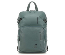 Piquadro Kyoto Laptop-Rucksack 14″ grün