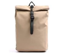 Mini Rolltop Rucksack 13″ beige