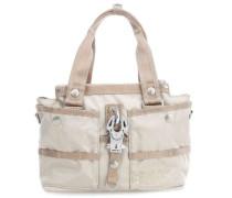 Basic Nylon Evil Chique Handtasche beige