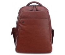 Black Square 15'' Laptop-Rucksack tan