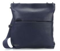 Mellow Leather Umhängetasche blau
