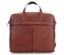 Buckner 15'' Laptop Messenger cognac