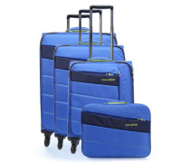 Kite SET Trolley-Set blau