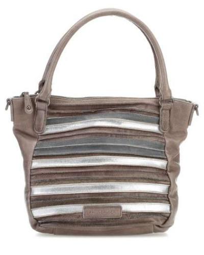 Pop Art Handtasche taupe