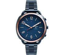 Accomplice Hybrid-Smartwatch blau