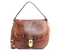 Zaniah Python Handtasche