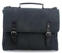 Hudson 14'' Aktentasche mit Laptopfach schwarz