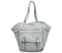 One Handtasche hellgrau