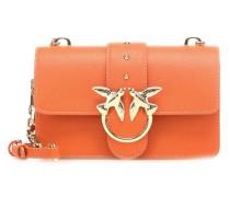 Pinko Mini Love Simply Schultertasche orange