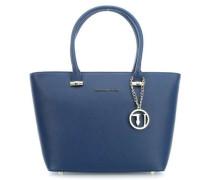 Levanto Ecosaffiano Handtasche blau