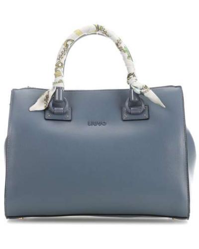 Manhattan Handtasche hellblau