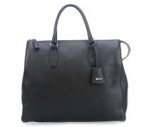 Calf Newton Handtasche schwarz