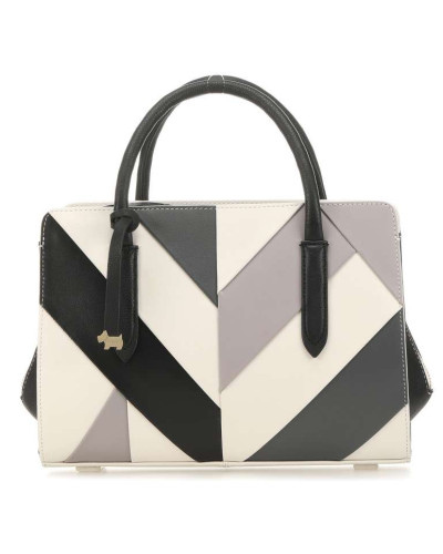 Liverpool Street Handtasche schwarz/weiß