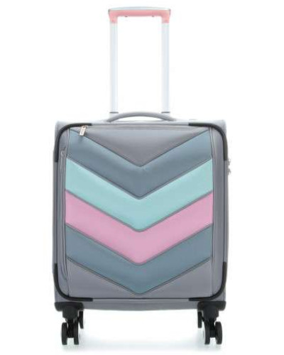 Spotlight Soft 4-Rollen Trolley grau