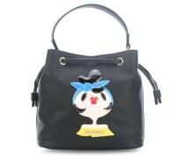 Charming Bag Beuteltasche schwarz